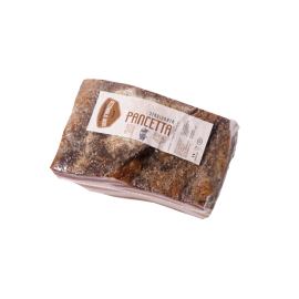 Pancetta Tesa - Suino Nero d'Abruzzo - 500 gr Tranci