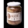 Salsiccia Sott'Olio - Suino Nero D'Abruzzo - 550 gr Barattolo